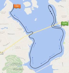 Lake Houston Boat Parade Route December 12 2015