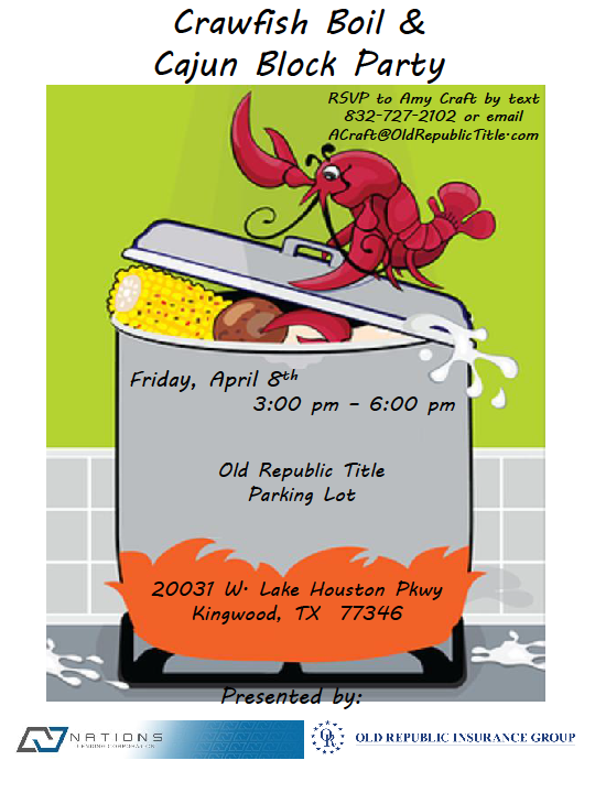 Crawfish Boil Block Party 2016