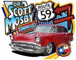 The community is invited to come out to Kingwood's Town Center Park April 17, 2016, for the annual Dr. Scott Mosby's Spring Car Show.